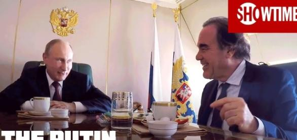 The Putin Interviews official picture; Image credit Sjowtime | youtube