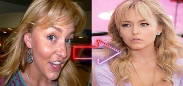 Famosas mexicanas flagradas sem maquiagem. Veja a diferença. ( Foto Reprodução)