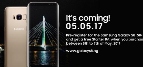 Pre-registration for Samsung Galaxy S8 and S8+ is On ... - sotectonic.com