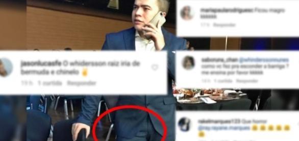 Whindersson posta foto em seu Instagram e recebe comentários maldosos