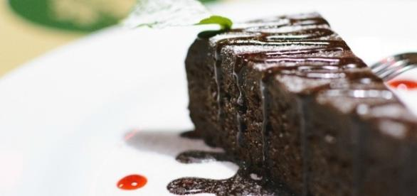 Dessert al cacao light, senza grassi.