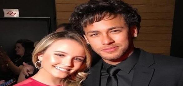 Neymar e Larissa Manoela juntos em evento em São Paulo
