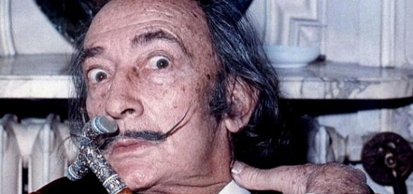 Photo Salvador Dali via Wikimedia by Allan Warren/CC BY-SA 3.0