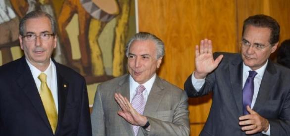 Racha no governo: Renan diz que PSDB e Cunha tomaram o Planalto