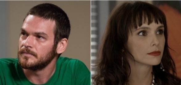"""Rubinho e Irene estão juntos em """"A Força do Querer"""" (Foto Internet)"""