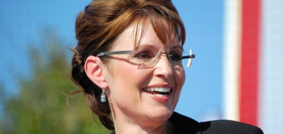 Sarah Palin on the campaign trail (Wikipedia)