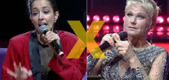 Xuxa foi chamada de mentirosa por Maytê (Foto: Captura de vídeo)