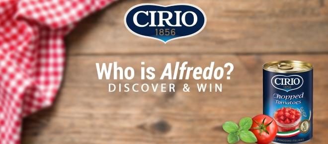Cirio's 'Who is Alfredo?' campaign brings food-stravaganza to the next level