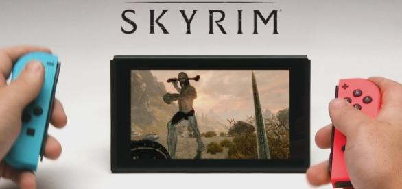 Amazon accidentally leaked the official release date of 'The Elder Scrolls 5: Skyrim' on Nintendo Switch (via YouTube/Bethesda Softworks)
