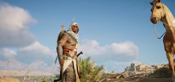 """""""Assassin's Creed Origins"""" game director wants to promote exploration and reward discovery (via YouTube/Ubisoft US)"""