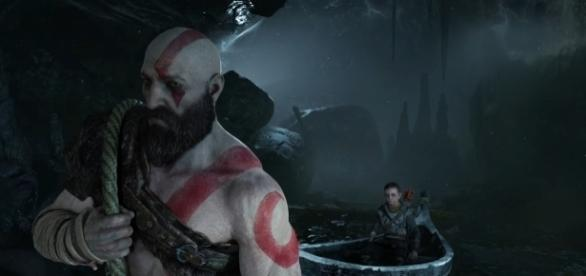 """God of War 4"" director says that the game shares similarities with the ""Dark Souls"" franchise (via YouTube/PlayStation)"
