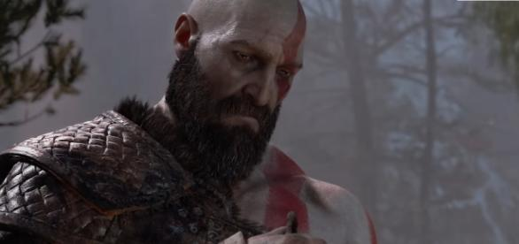 """God of War 4"" is a PlayStation 4-exclusive title slated for release in early next year (via YouTube/PlayStation)"