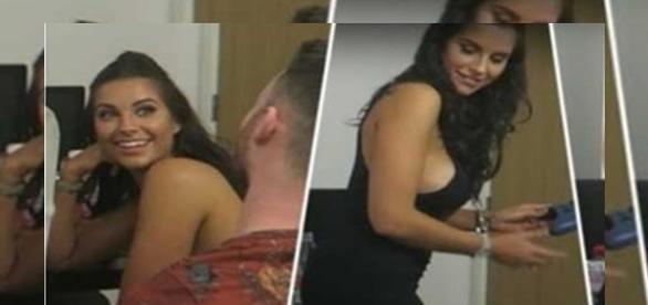 Mulher cai em pegadinha com melhor amigo do namorado. ( Foto: Reprodução)