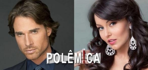Sebastian Rulli e Angelique Boyer foram demitidos pela Televisa (Foto: Reprodução)
