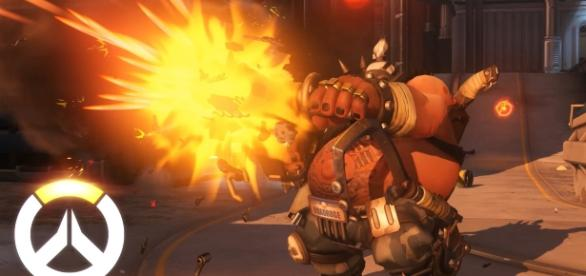 "The latest patch Blizzard introduced reduced Roadhog's bullet damage to 30 percent in ""Overwatch"" (via YouTube/PlayOverwatch)"