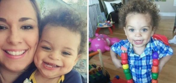 Dallas Lynn com o filho Jameus