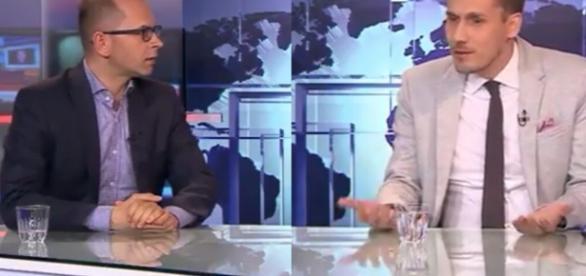 Konrad Berkowicz i Michał Szczerba (źródło: youtube.com).