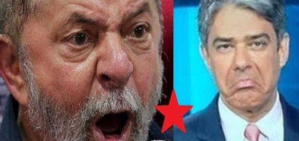 Luiz Inácio Lula da Silva manda recado para Bonner