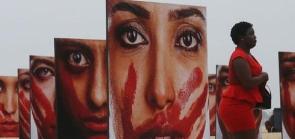 Números da violência contra mulheres no Brasil
