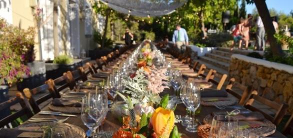 Summer Wedding in a Natural Park - A Spanish Do - aspanishdo.com