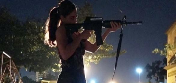 A atriz Juliana Paes interpretando Bibi em 'A Força do Querer'. ( Foto: Divulgação)
