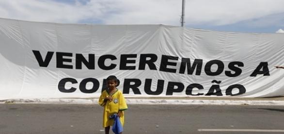 A corrupção tornou-se a principal preocupação dos brasileiros