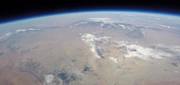 A KFC chicken sandwich takes a balloon ride to the stratosphere, returns after 17 hours. - newsok.com