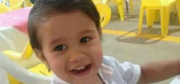 Luis Felipe dos Santos Machados tem 2 anos e nove meses (Foto: Arquivo pessoal)