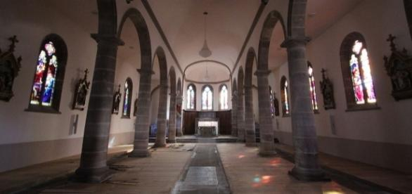 Murielle Bolle aurait rédigé un mystérieux message dans un registre de l'église de Lépanges-sur-Vologne