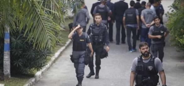 Operação Calabar é considerada a maior da história da polícia do Rio, para apurar atos de corrupção - foto: Reprodução / O São Gonçalo