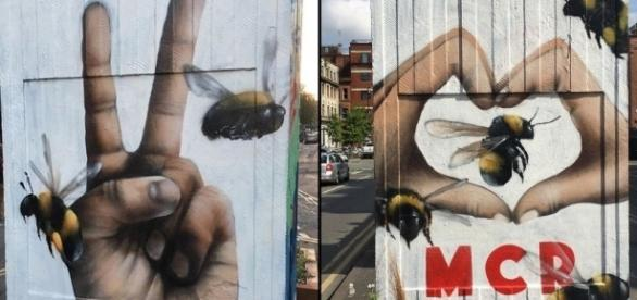 Qubek mural captures spirit of Manchester after terror attack ... - cnn.com