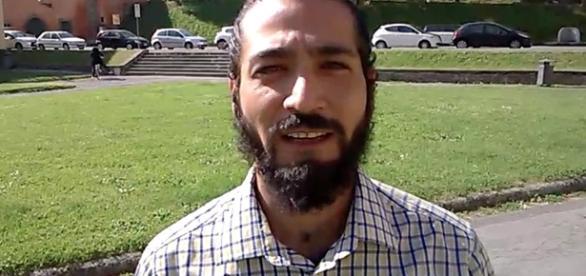 """Lebbiati Fiorello Miguel, candidato nella lista """"Sinistra per Tambellini"""" di Lucca."""