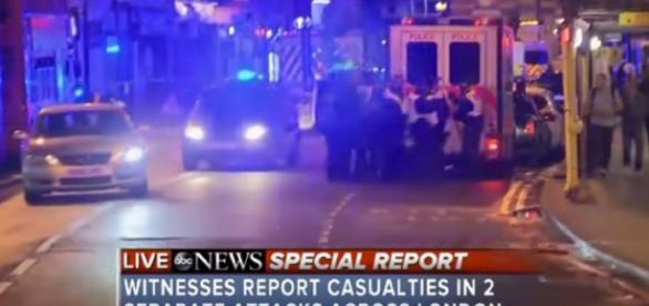 London Bridge attack | screencap from ABC News via Youtube