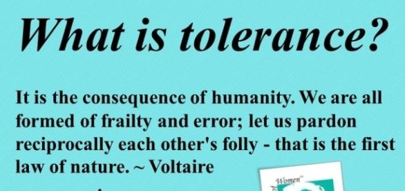 Tolerance Vs Being True To Yourself. | Ramana's Musings - rummuser.com