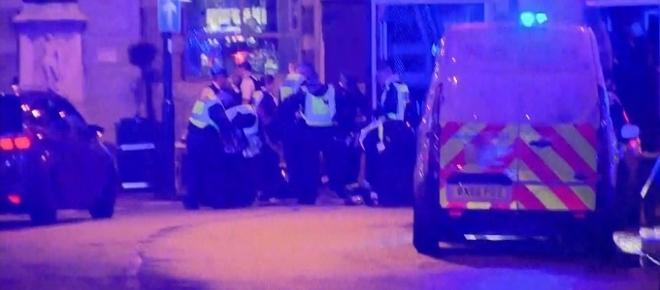 Pedestrians struck by van on London Bridge