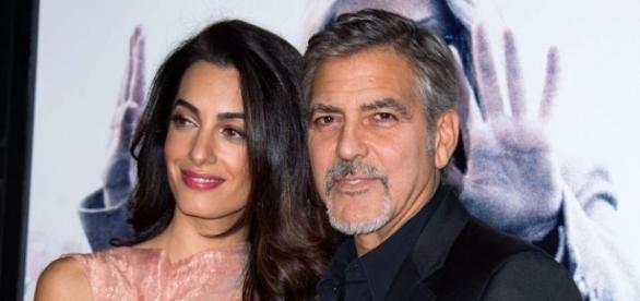 Amal y George Clooney, padres de mellizos