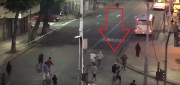 Bandidos fazem arrastão no Centro do Rio