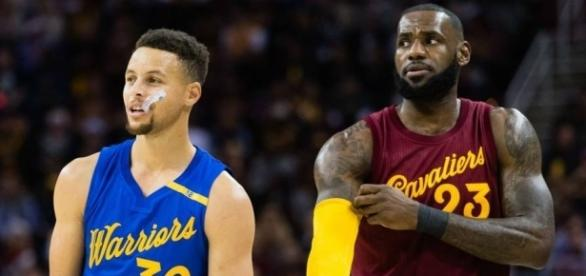 Everyone had to step over Stephen Curry dummy to enter LeBron ... - sportingnews.com