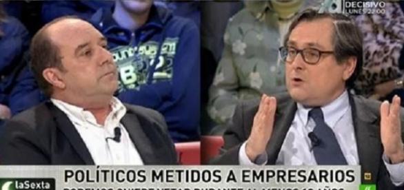 Francisco Marhuenda y Jesús Maraña