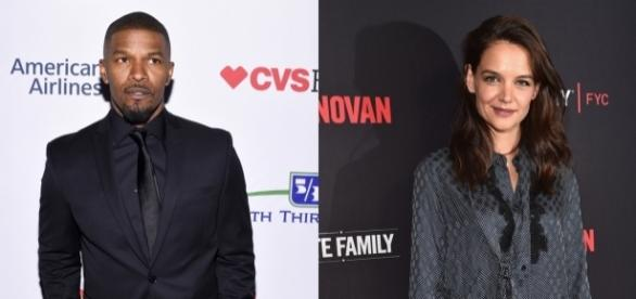 Katie Holmes and beau Jamie Foxx plan to marry on a summer day in Italy? Photo - extratv.com