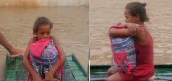 Menina salva livros e tem sua história contada na TV (Foto: Google)