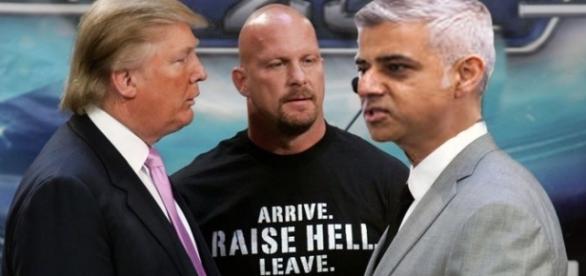 Război total între Donald Trump și primarul musulman al Londrei
