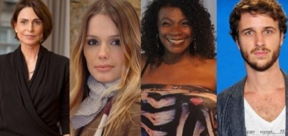 Silvia Pfeifer, Graziela Schmitt, Zezé Motta e Miguel Thiré fazem fama em Portugal