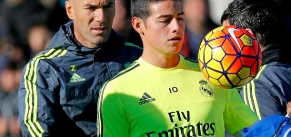 Ya no hay vuelta atrás para James Rodríguez en el Real Madrid de Zinedine Zidane. Foto: www.sportyou.es