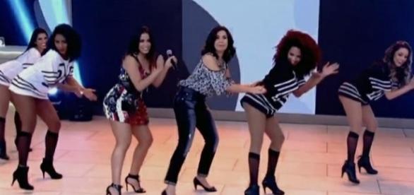 Fátima já dançou muitas vezes ao vivo