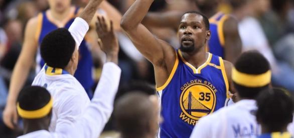 Kevin Durant será el MVP de las Finales si gana Golden State. SBNation.com.