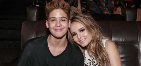 O casal fez muito sucesso quando estavam juntos