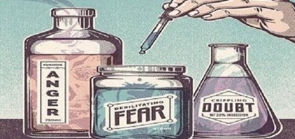 Zorn, Furcht und Zweifel als Mittel zur Menschenhaltung - via Youtube
