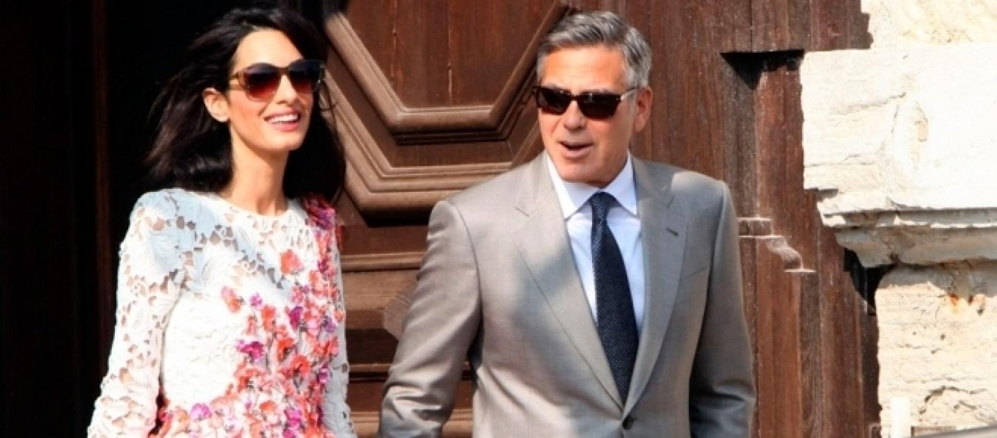 George And Amal Clooney Welcome Their Twins, A Baby Boy