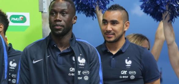 Bacary Sagna et Dimitri Payet en équipe de France